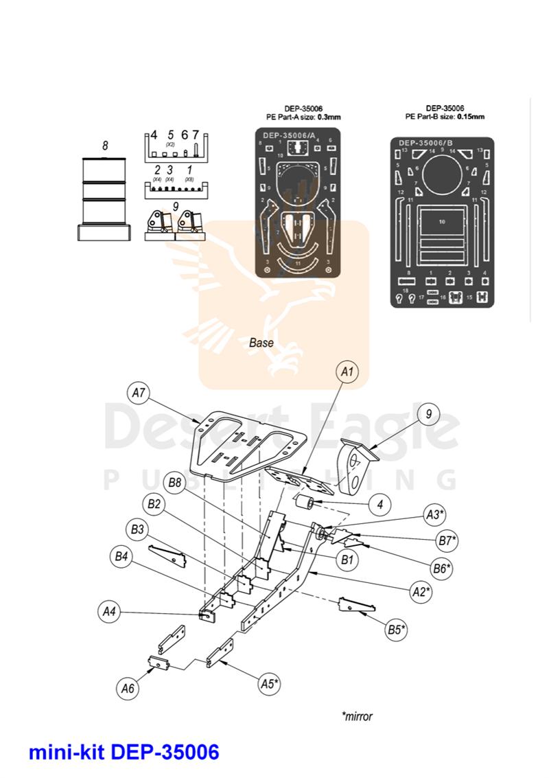 Merkava Mk4m Trophy Update Set Tank Schematic Msrp 5600