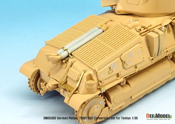 Char 1935s Panzer Tanks Konstruktionsspielzeug Bauklötzen Bausteine Somua S-35
