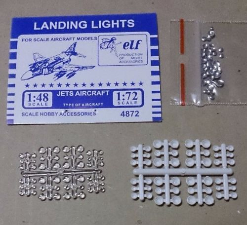 Aircraft Landing Lights (48pcs) (with Separate Reflector Parts) - 1