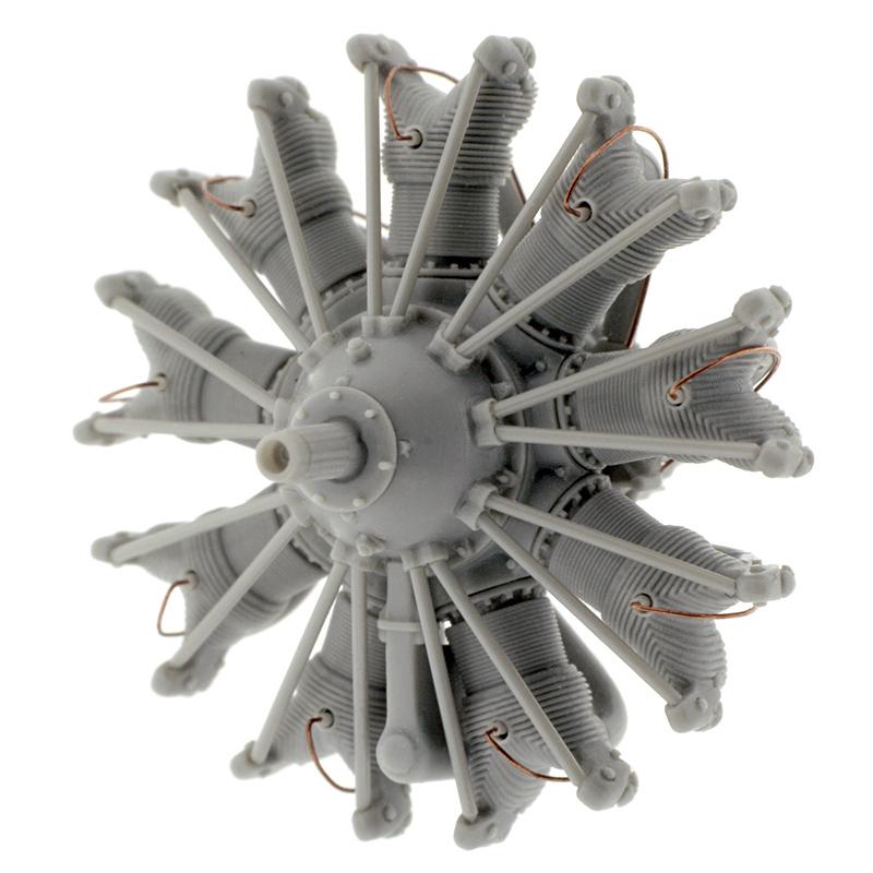 Starfighter 1//72 R-1690 PRATT /& WHITNEY HORNET ENGINE Resin Set